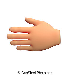 hand 3d illustration
