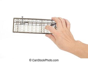 Hand abacus