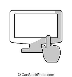 monitor computer icon