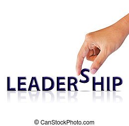 hand and word leadership