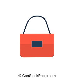 hand bag on white background