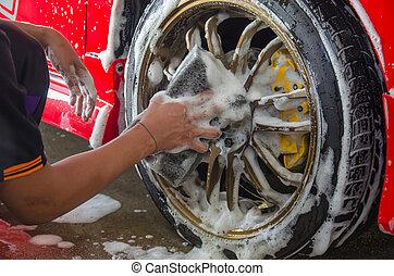 Hand Car Wash Sponge