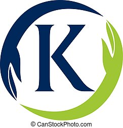 Hand Care Solution Letter K