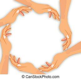 hand cooperation