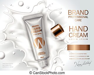 hand cream ad