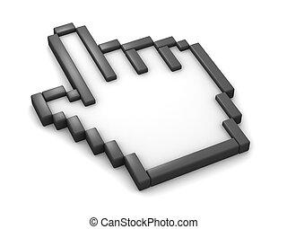 Hand Cursor 3D