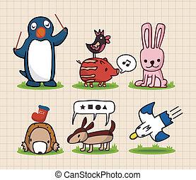 hand draw animal