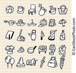 hand draw home icon