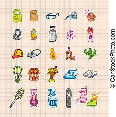 hand draw icon