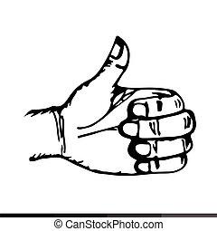 Hand draw Icon Illustration design