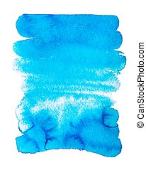 hand drawing abstract watercolor texture background isolated on