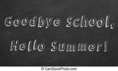 Goodbye School, Hello Summer!