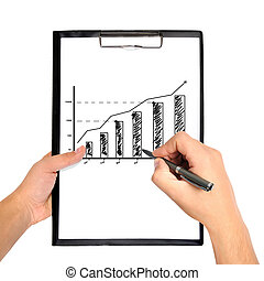 hand drawing graph