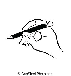 hand drawing freehand sketch hand vector for design