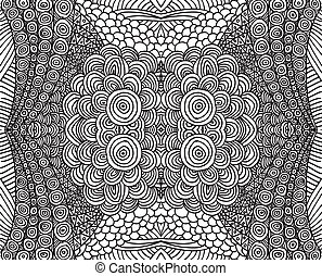 Hand drawn abstract background. vector illustration