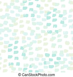 Hand Drawn Abstract Seamless Patter - Hand painted brush...