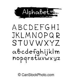 hand drawn alphabet-2