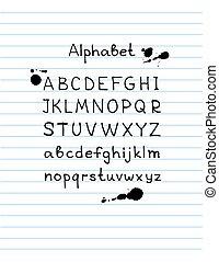 hand drawn alphabet-7