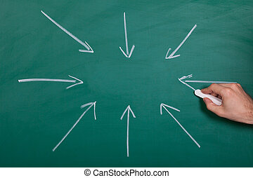 Hand Drawn Arrows Gathering