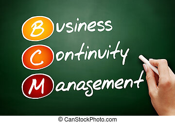 BCM - Business Continuity Management