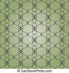 Hand drawn beautiful vintage pattern