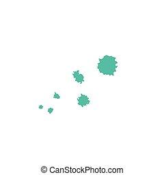 Hand drawn blots