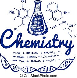 Hand drawn chemistry