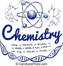 Hand drawn chemistry