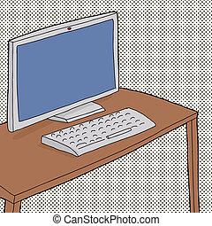 Hand Drawn Computer