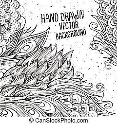 hand drawn decorative background