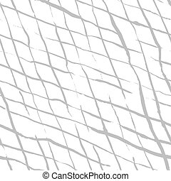 Hand drawn doodle rhombus seamless pattern - Seamless...