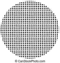 hand drawn dot pattern