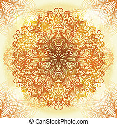 Hand drawn ethnic ornament