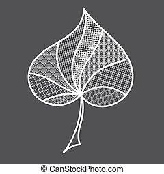 Vector design elements in zentangle style.