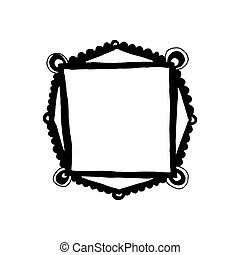 Hand drawn frame
