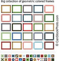 Hand drawn frames set