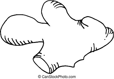 hand drawn ginger (vector) - illustration of a hand drawn ...