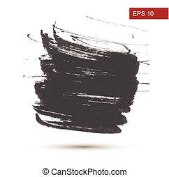 Hand Drawn Grunge background. Vector Illustration