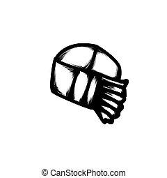 hand drawn icon vector illustration