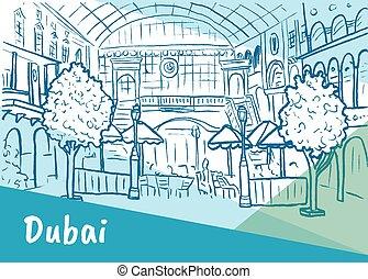 shopping center in Dubai