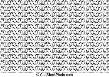Hand drawn ink seamless pattern