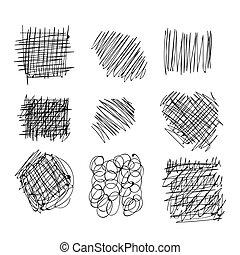 Hand drawn ink sketch
