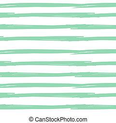 Hand drawn ink textured seamless striped background. White ...