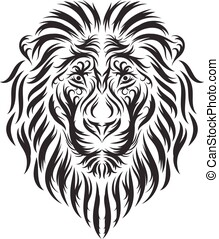 hand drawn lion head inspirations
