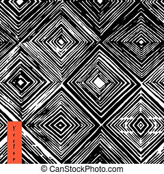 rhombus seamless pattern.