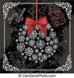 hand drawn new year card 4