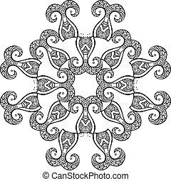 Hand drawn ornament