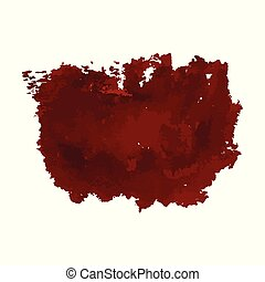 hand drawn painted scratched vector Illustrations template of Grunge Halloween background with blood splats banners abstract background brush texture for promotion. isolated on white background