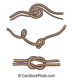 Hand Drawn Rope