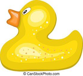 Hand drawn rubber duck